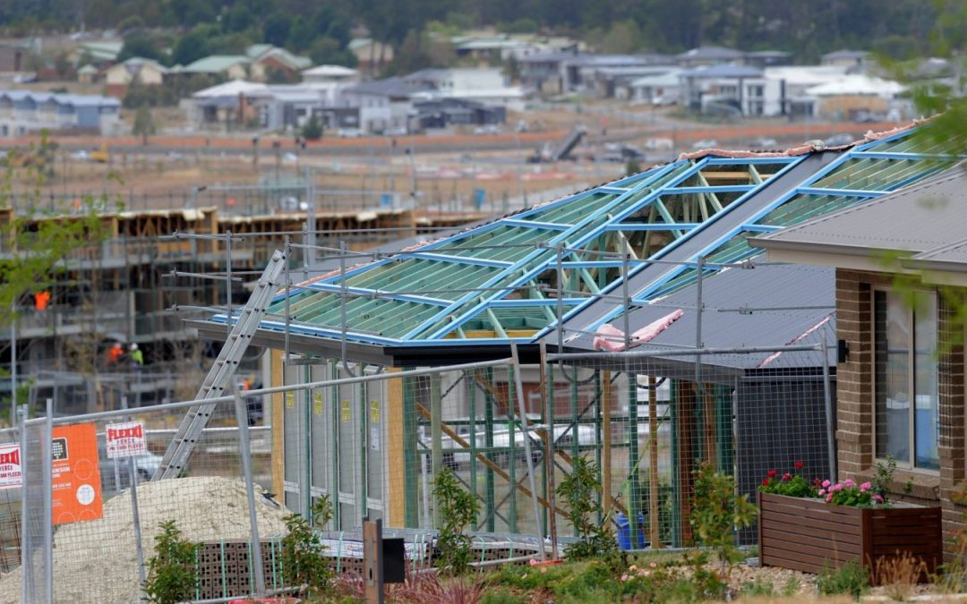 House construction on the rise as units decline in Canberra: report