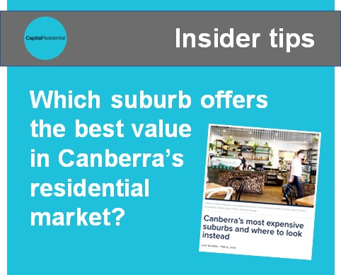 Buying in Canberra tips