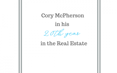 Cory McPherson and his 20 years of experience